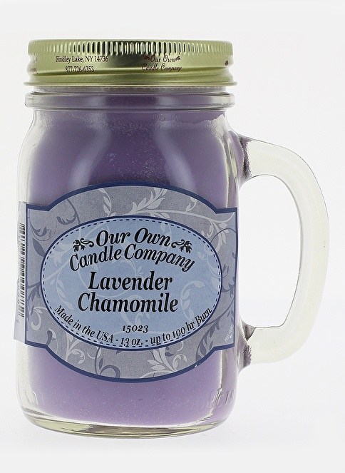 Our Own Candle Company Lavender Chamomile Büyük Mum Renkli